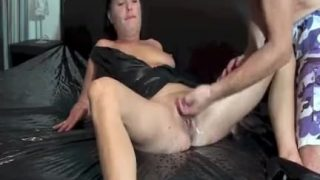 Fisting the wife till she gushes torrents of