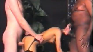 Crazy homemade Threesomes, Chinese adult movie