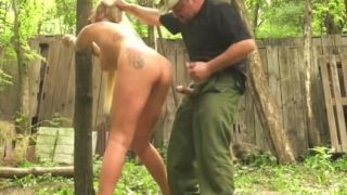Russian MILF Bound, Gagged and Fucked