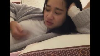 Chinese girl changxin lei masturbates on webcam!